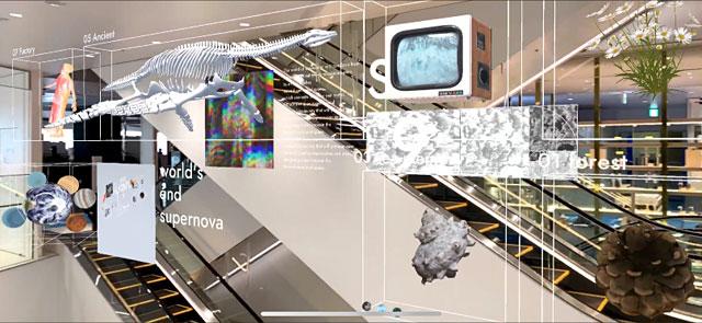 福岡パルコが最先端テクノロジーによるARアート空間演出を展開へ