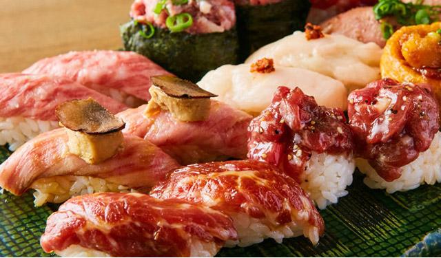 博多筑紫口『肉寿司』でハッピーアワー開催中!「ハイボール・サワー」何杯飲んでも1杯190円!