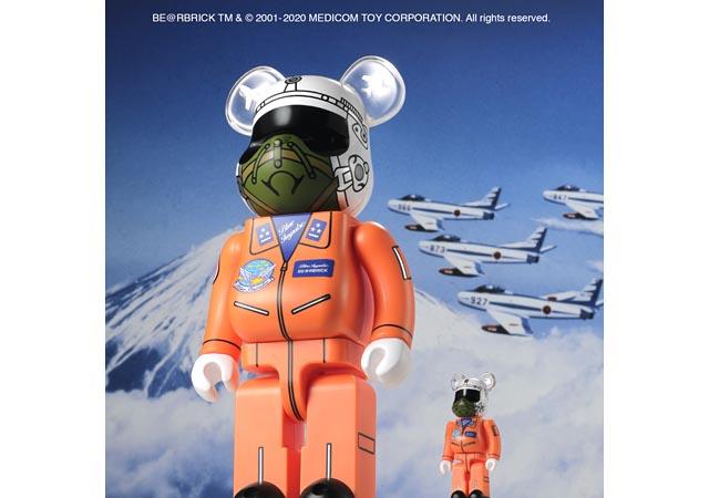 空中機動研究班 設立60周年記念『1964 BLUE IMPULSE BE@RBRICK』発売へ