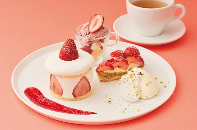 ビブリオテークが苺づくしのデザートフェア『ストロベリーデザートフェア』開催