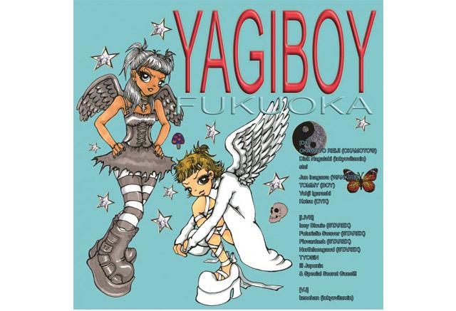 オカモトレイジ主宰の「YAGI EXHIBITION」と古着屋「BOY」による「YAGIBOY」天神で開催!
