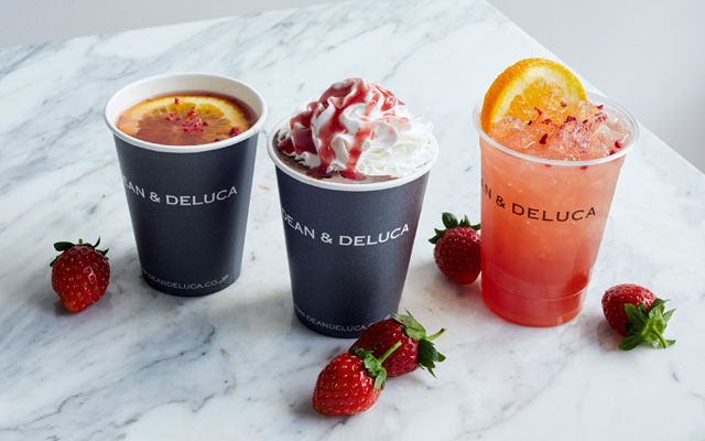 ディーン・アンド・デルーカから苺とチョコレートで温まる「冬のスイートドリンク」発売へ