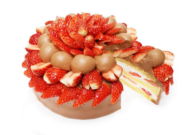 カフェコムサ1月のショートケーキの日は「いちごのショートケーキ」2種発売へ