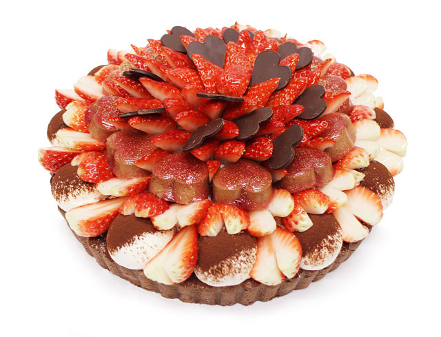 カフェコムサがバレンタインデーに向けた限定ケーキの予約を開始