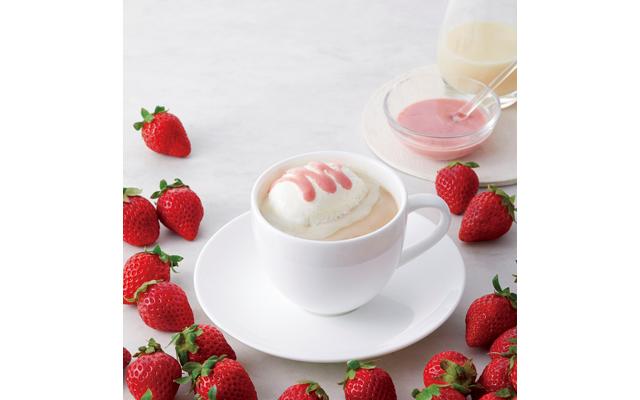 上島珈琲店から『苺ミルク珈琲』と『カルダモンミルク紅茶』登場