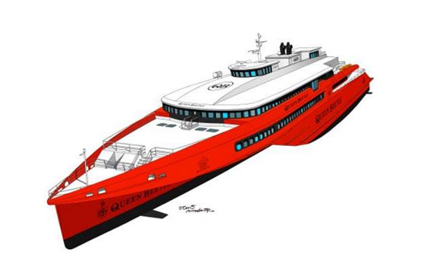 JR九州高速船(福岡~釜山航路)新型高速船「QUEEN BEETLE」予約開始へ