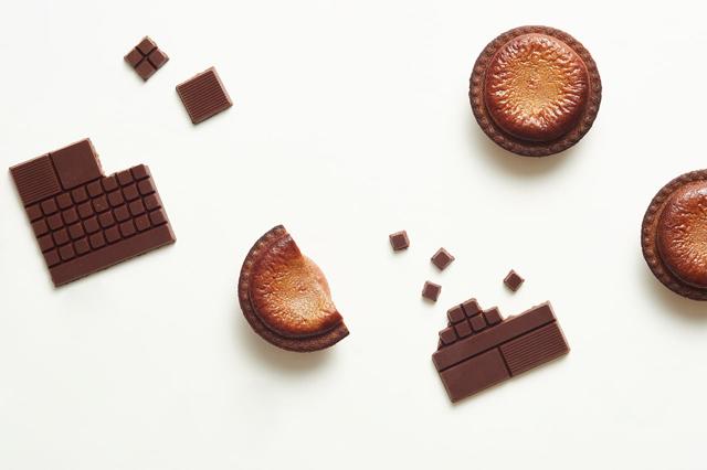 ベイクチーズタルト「焼きたてチョコレートチーズタルト」期間限定販売中!
