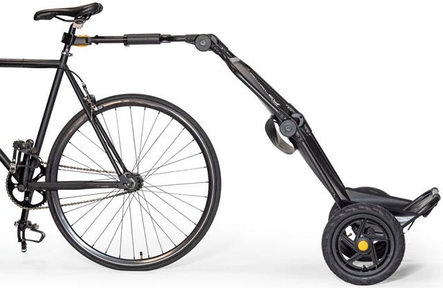 バーレーの自転車用カーゴトレーラー「トラボーイV2」登場