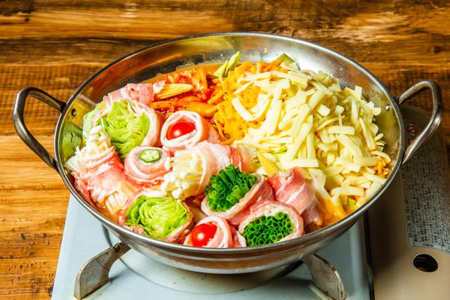 はじめ 天神大名店でトレンド直前「野菜巻きチーズ発酵鍋」期間限定で半額食べ放題!