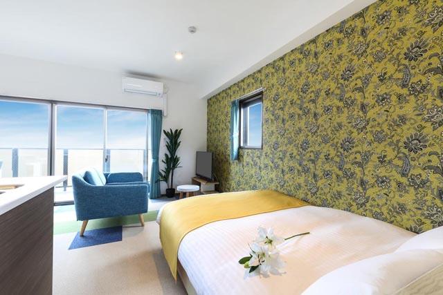博多駅南に新築のレジデンスタイプホテル「A.T.HOTEL HAKATA」オープン