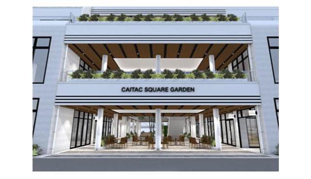 天神エリア最大規模の複合施設「CAITAC SQUARE GARDEN(カイタック スクエア ガーデン)」が今春開業へ