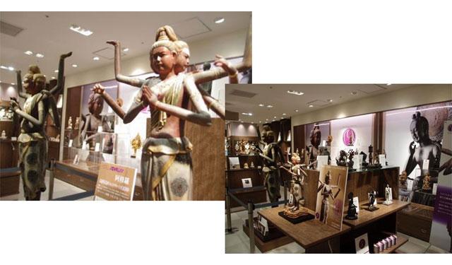 岩田屋本店に仏像フィギュアブランド「イスム」期間限定で九州初出店へ
