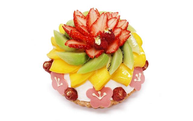 カフェコムサからひな祭りにちなんだ「弥生のケーキ―桃の節句―」登場
