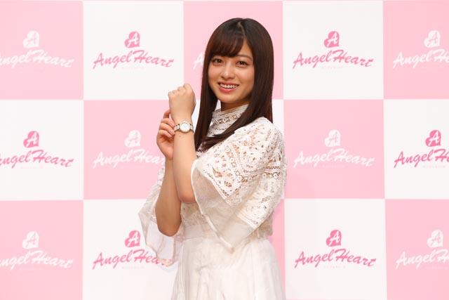 橋本環奈さんが腕時計ブランド『エンジェルハート ブランドミューズ』に就任