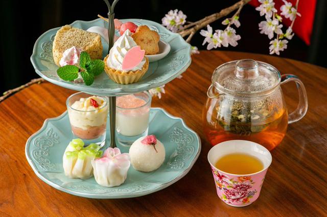 今泉の中国茶カフェ「チャイナカフェ」から桜の台湾アフタヌーンティー販売スタート!
