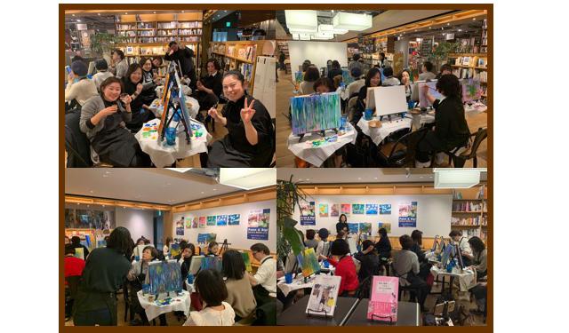 【開催延期】絵画レッスンとワインを楽しむイベント『Artbar Fukuoka(アートバー・フクオカ)』