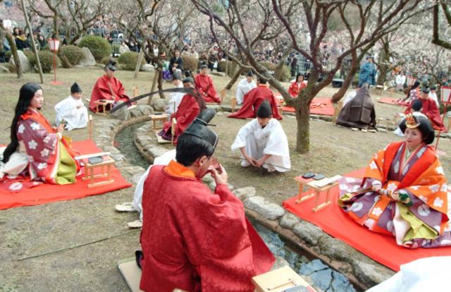 【一般観覧席を閉鎖】太宰府天満宮「曲水の宴」3月1日開催