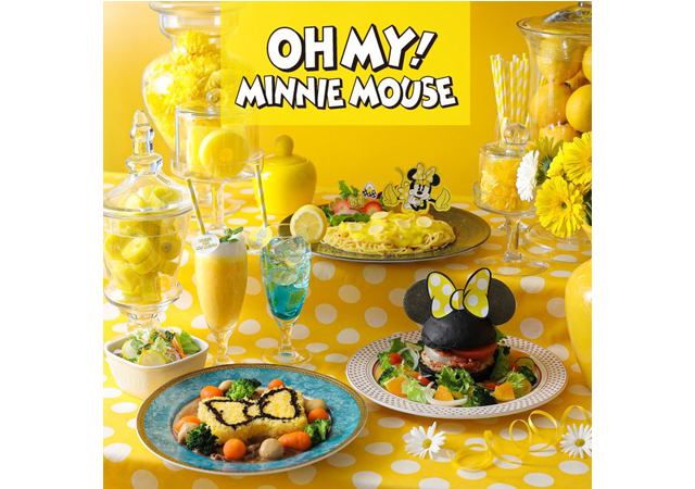 KITTE博多に「OH MY!MINNIE MOUSE」OH MY CAFE 期間限定オープン!