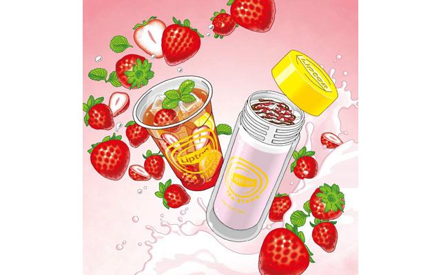 Lipton TEA STAND 博多店から「Fruits in Tea いちご」「Milk Tea いちご」発売へ