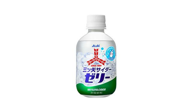 日本生まれの炭酸飲料「三ツ矢」ブランドから136年の歴史で初のゼリー商品登場