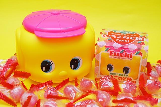 「フエキあまおう果汁入りいちごのど飴」「フエキ明太子ふりかけ」福岡限定発売へ