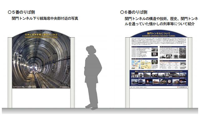 JR九州が関門トンネルの技術や歴史などを紹介する「案内板」を門司駅に設置へ
