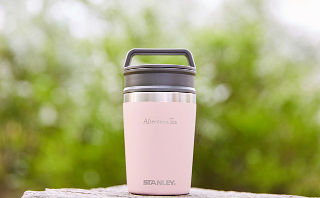 Afternoon Tea LIVING×STANLEY 初コラボ商品「真空マグ(0.23L)」発売へ