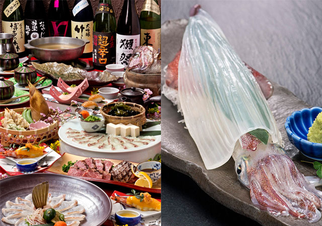 春吉に「あら鍋クエ料理とイカ活造り 博多かんべえ 春吉天神邸」オープン!