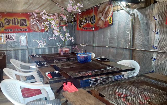 おんがのかき小屋で「お花見BBQのスペース」レンタル開始!