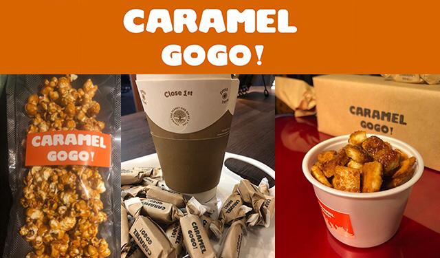 西新で人気のショップ、奄美産天然黒糖による最高の生キャラメルを提供する「キャラメルゴーゴー!」博多マルイ初登場