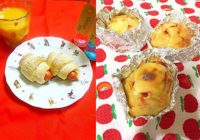 【クックパッド】ホットケーキミックスで手軽にパン作り