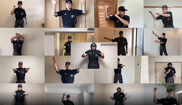 アウト!セーフ!NPB審判員によるジェスチャー解説動画「PLAY BALL TEAM13」公開