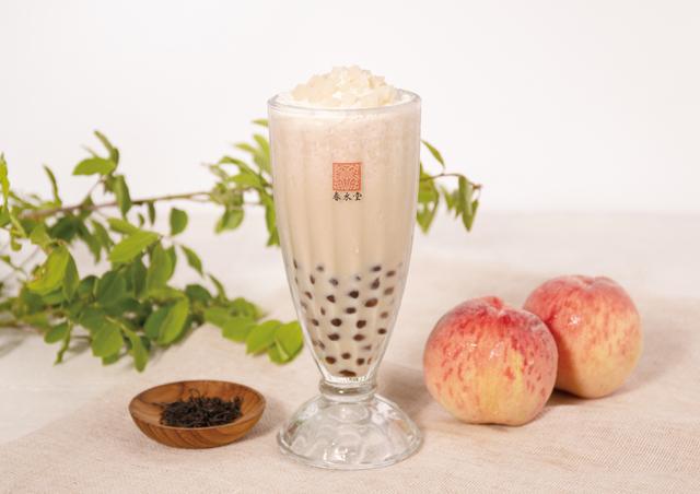 春水堂(チュンスイタン)から「タピオカ白桃ミルクティー」期間限定で販売開始