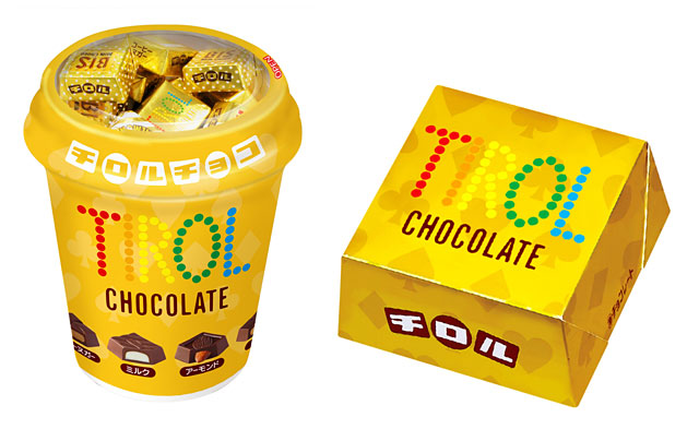 チロルチョコから新商品「ゴールドカップ」「ゴールド」の2種発売へ