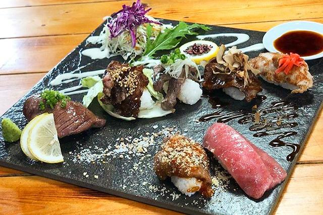 新ランチメニューがパワーアップ「肉寿司ちょんまげ」6月1日より営業再開