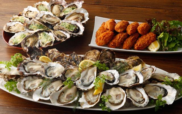 キャナルのフィッシュ&オイスターバーが「真牡蠣食べ放題」開催へ