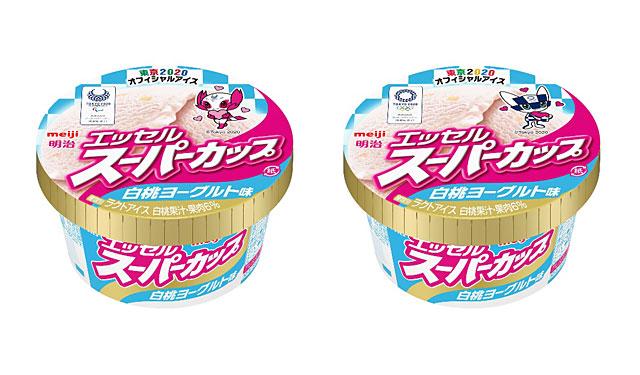 明治 エッセルスーパーカップから「白桃ヨーグルト味」発売へ
