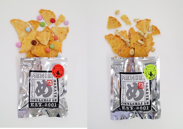 福岡土産の定番「めんべい」の新たな挑戦『めんべいチップス』新発売