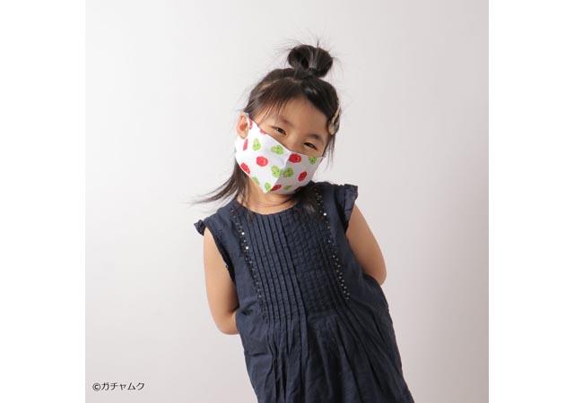 コックス×イオンエンターテイメント『ガチャピン・ムック』マスク予約販売開始