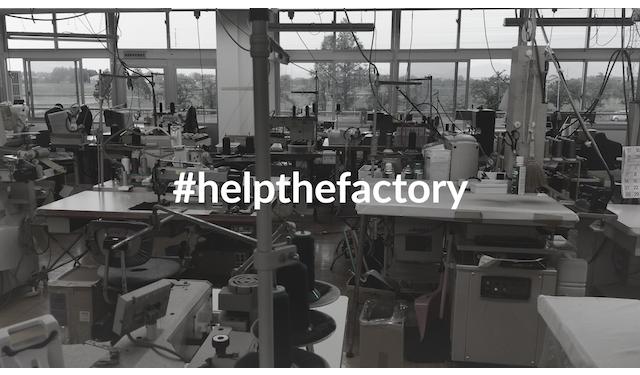オーダースーツの購入が工場存続の支援に「HELP THE FACTORY」キャンペーン開始