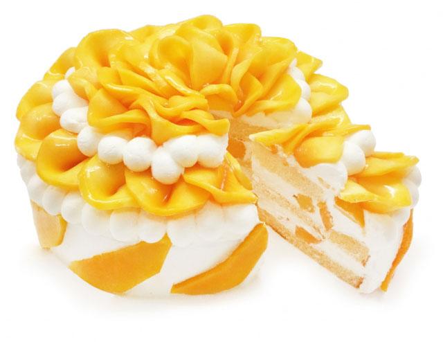 カフェコムサ、今月のショートケーキの日は「沖縄県産完熟マンゴーを使用したショートケーキ」が登場