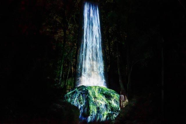 チームラボ恒例の森のアート展「チームラボ かみさまがすまう森」会期決定