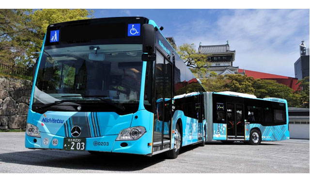 西鉄バス北九州が連節バスを4台増車、大幅増便へ
