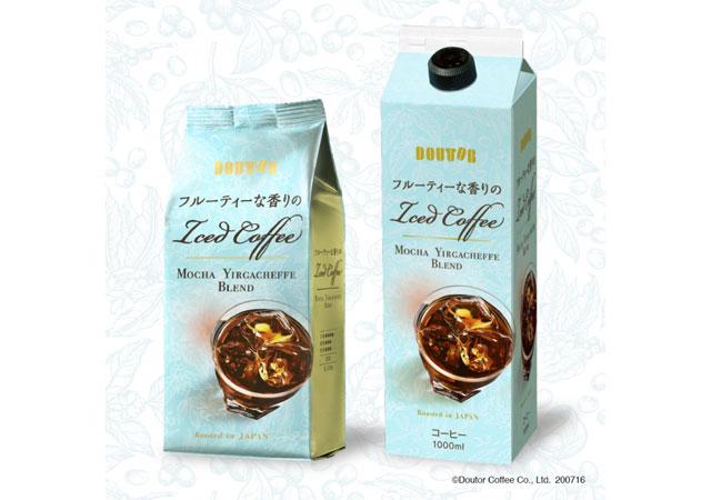 ドトールコーヒーから「フルーティーな香りのアイスコーヒー ~モカ イルガチェフェ ブレンド~」登場
