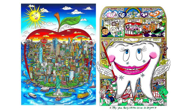 博多阪急で「チャールズ・ファジーノ3Dアート展」開催