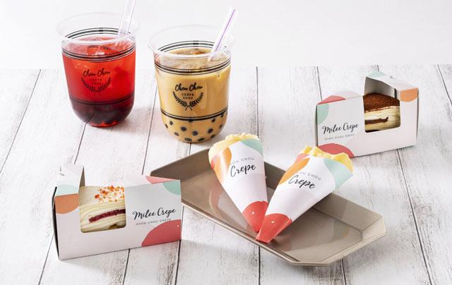 久留米のクレープ専門店「シュシュクレープ花畑店」がリニューアルオープン