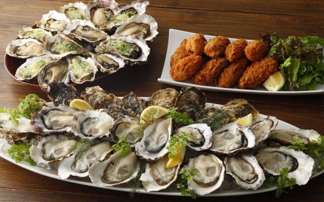 キャナルのフィッシュ&オイスターバーでランチ・ディナー終日開催の「真牡蠣食べ放題」提供へ