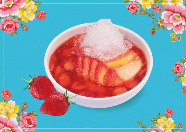 春水堂から新商品「苺かき氷豆花」発売へ