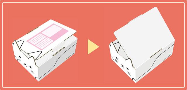 ヤマト運輸から新たな箱「ネコ耳BOX」登場