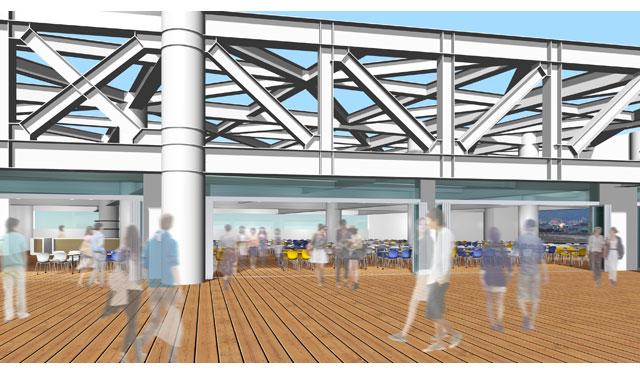 4年ぶりに福岡空港にビアテラスが復活「福岡空港 ビアマルシェ ソラガ・ミエール」オープンへ
